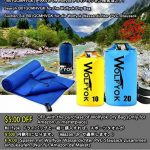 2 Pack Microfiber Travel Sports Towel - Wolfyok XL Ultra Absorbent and Quick Drying Swimming Towel Set (58 X 30 ) with Hand Towel (14 X 13.7 ) for Sports, Backpacking, Beach, Yoga or Bath, Blue de la marque Wolfyok image 3 produit