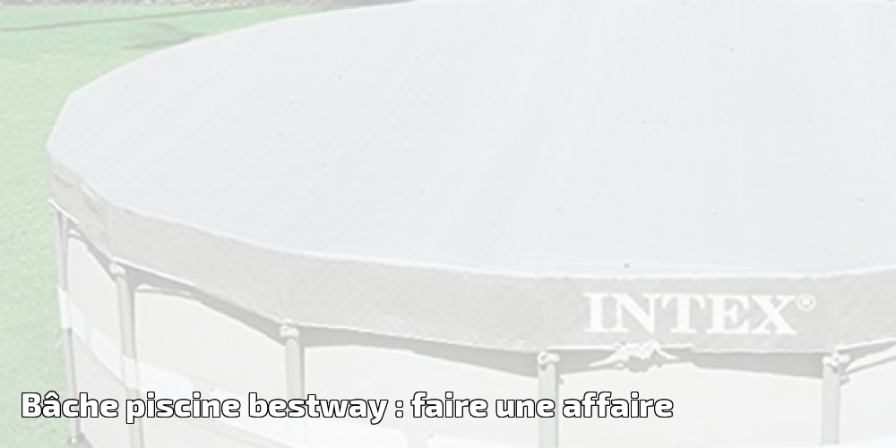 B che piscine bestway faire une affaire spa et piscine for Bache piscine bestway