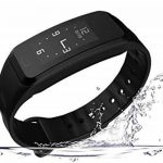 Fitness Tracker Smart Blood Pressure Bracelet Heart Rate Monitor Bluetooth Sports Waterproof Step Sleep Monitor Bracelet Montre Pour ANDROID IOS,Black de la marque MDSNFH image 2 produit