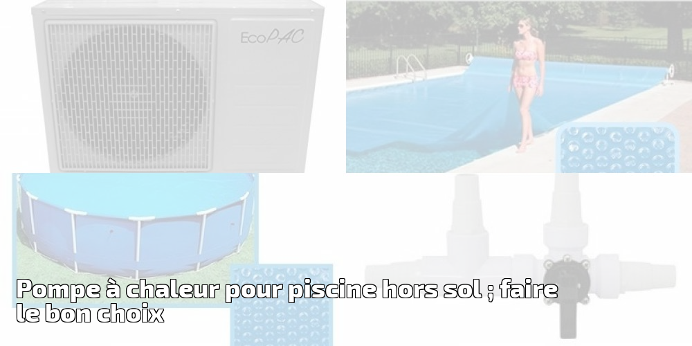 pompe pour piscine hors sol pompe a chaleur eco m kw pour. Black Bedroom Furniture Sets. Home Design Ideas